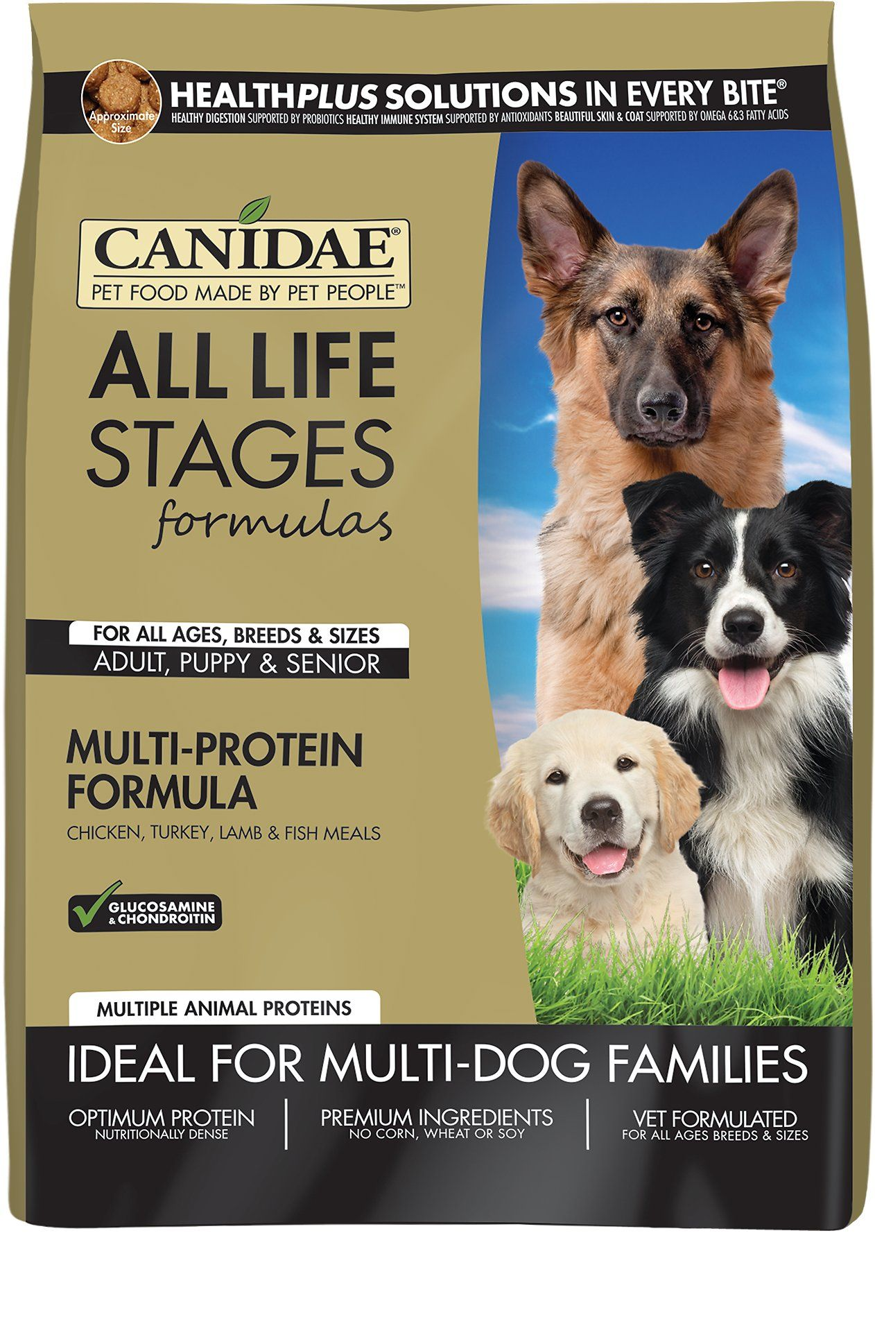 Canidae all life stages multiprotein formula dry dog food