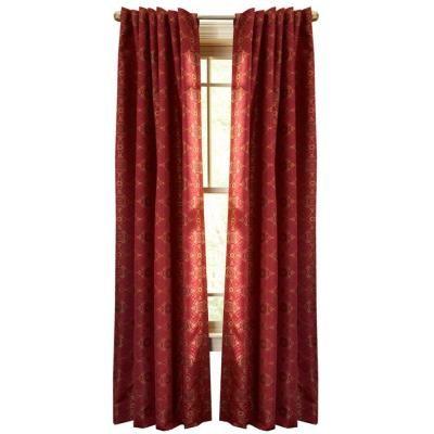 Martha Stewart Living Barn Pageant Back Tab Curtain 84 In Length