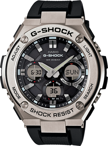 5bb34836761 Absolutely loving my new G-Shock G-Steel watch