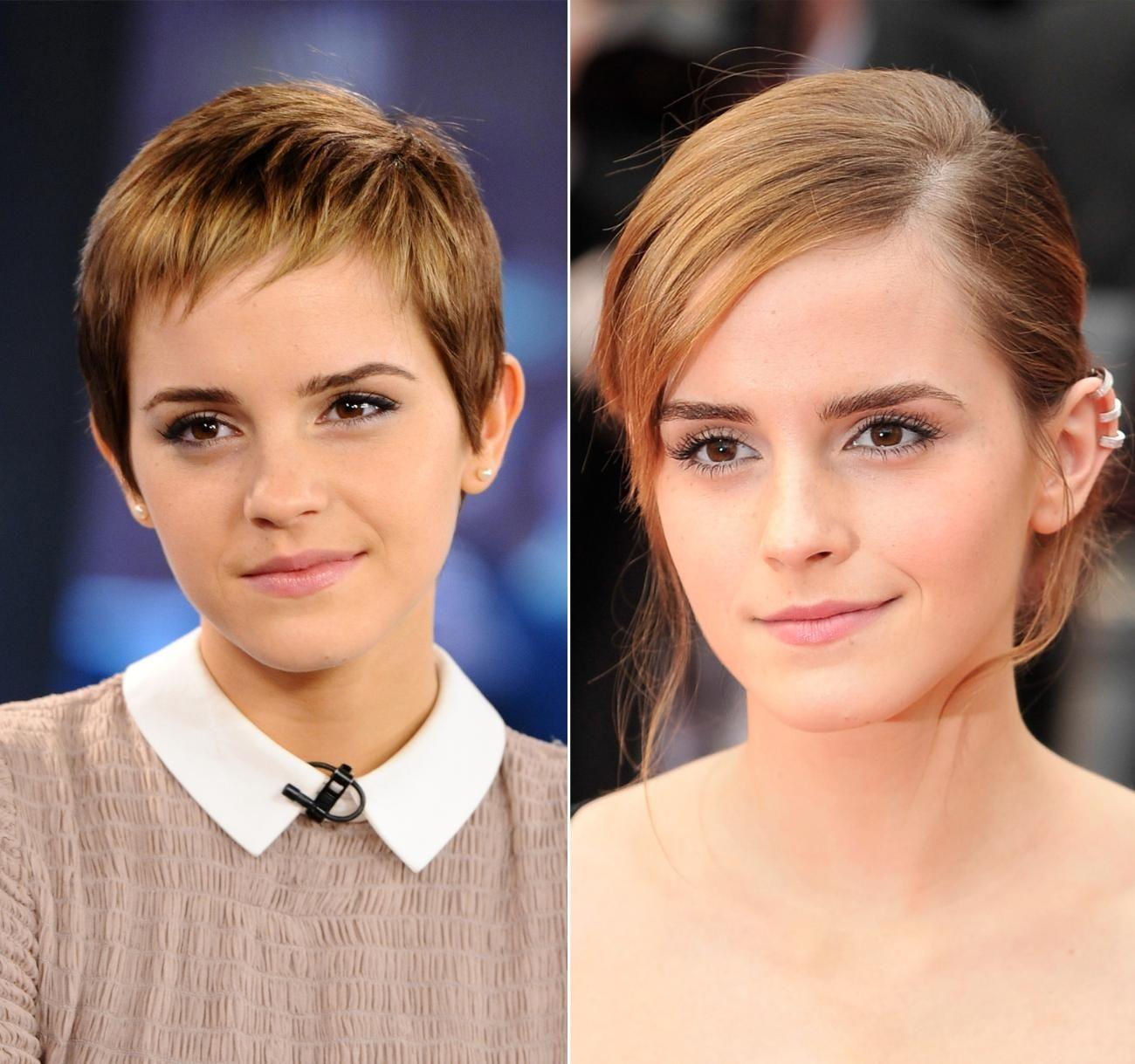 Cheveux courts: comment coiffer un #pixie qui #repousse ...