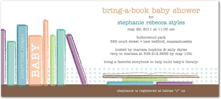 Baby Bookshelf: Deep Turquoise - Studio Basics: Baby Shower Invitations in Deep Turquoise | Tiny Prints Studio Basics