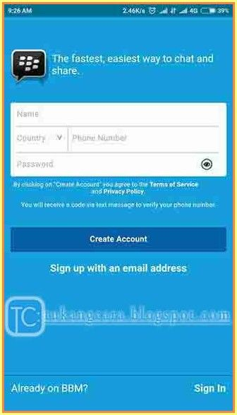 Pin Oleh Tukang Cara Di Cara Mendaftar Bbm Android Samsung Beserta Contoh Gambar Samsung Android Gambar