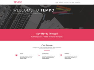 free photography website templates free download html with css