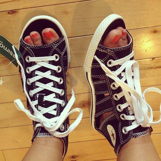 29bbf4b381a8  Amanda Snelson Snelson Ash Got my Converse sneaker sandals today. Bring  it