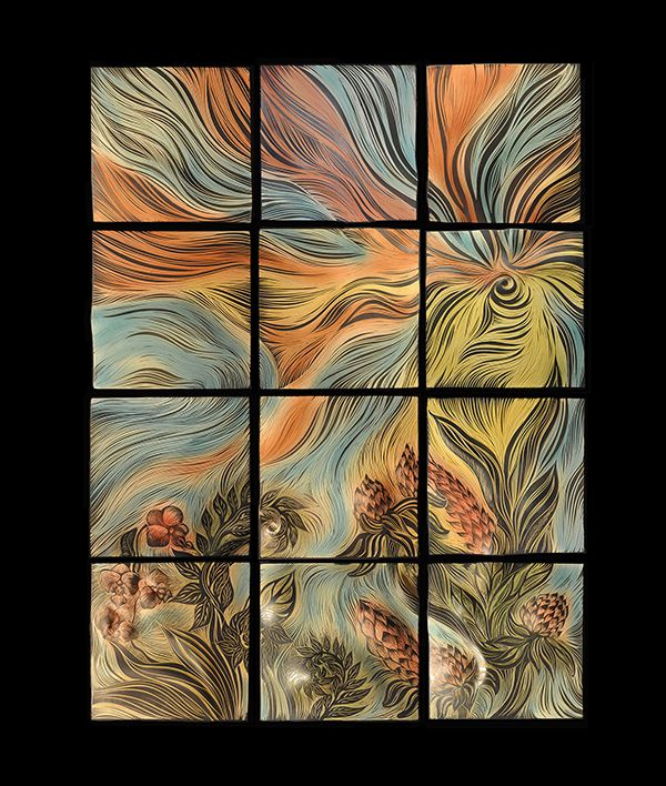 Unusual 12X12 Acoustic Ceiling Tiles Thin 12X12 Ceramic Floor Tile Regular 2 X 4 Ceiling Tiles 20 X 20 Floor Tiles Youthful 3D Glass Tile Backsplash Coloured3X6 Beveled Subway Tile Handmade, Sgraffito Carved Ceramic Wall Tile By Natalie Blake ..