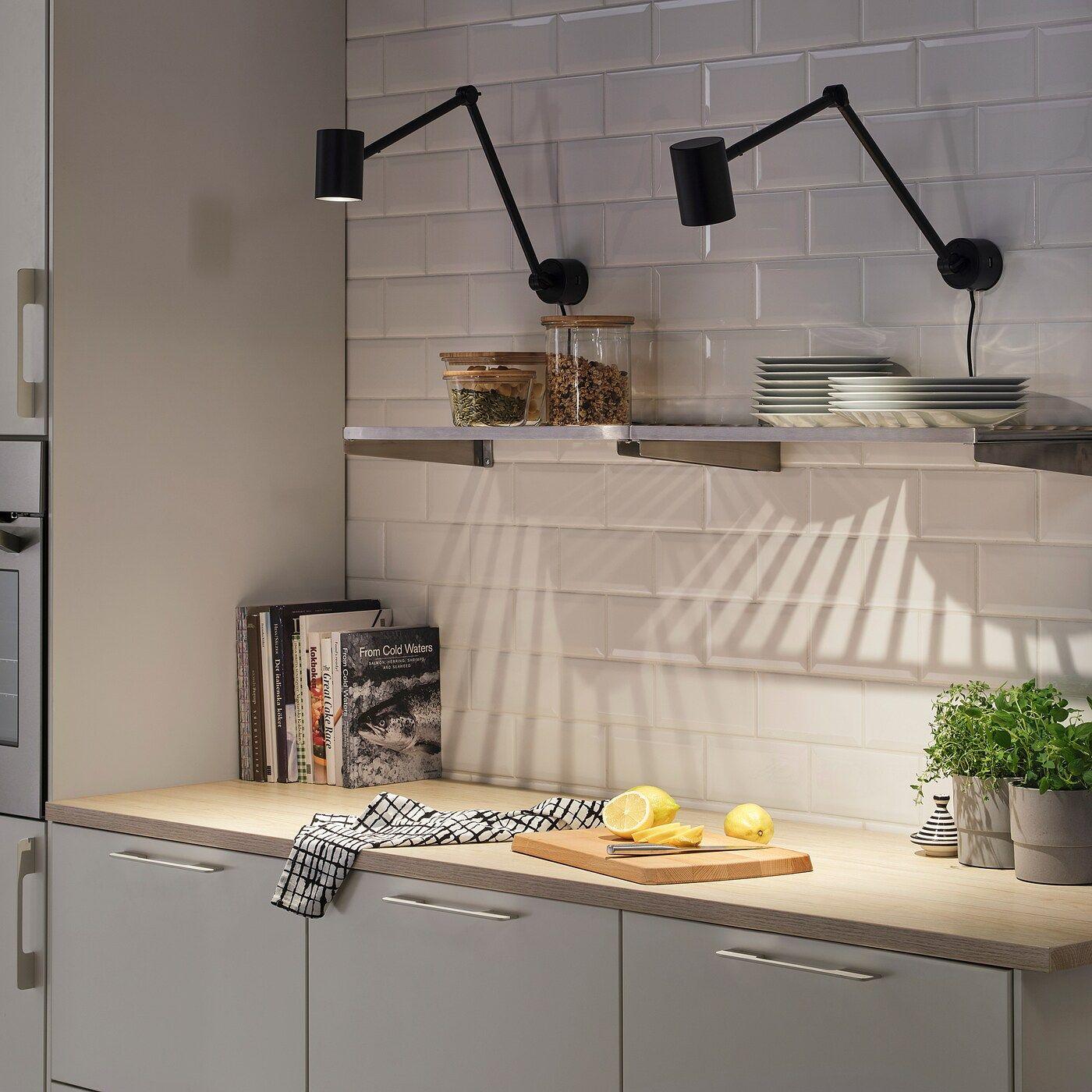 NYMÅNE Arbeits Wandleuchte anthrazit IKEA Österreich in