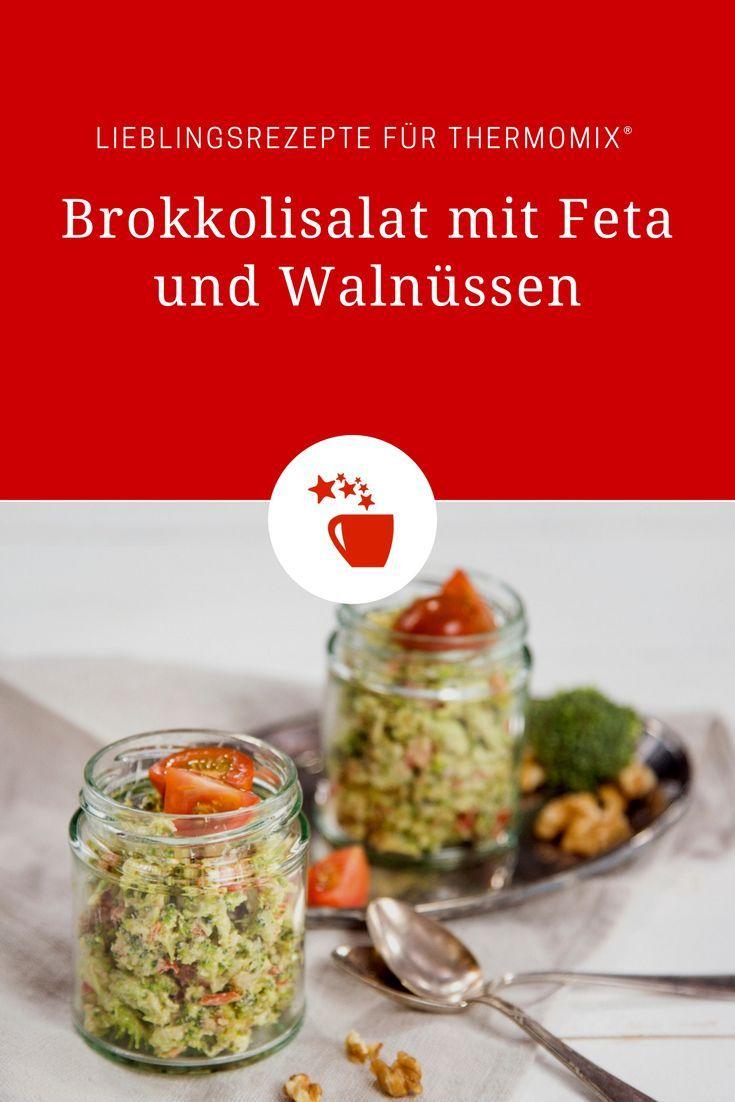 Photo of Brokkolisalat mit Feta und Walnüssen – mein ZauberTopf