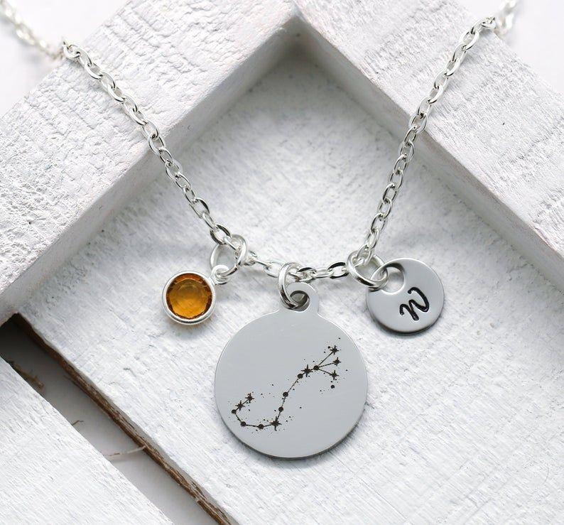 Scorpio Necklace for Women - Scorpio Constellation Zodiac ...