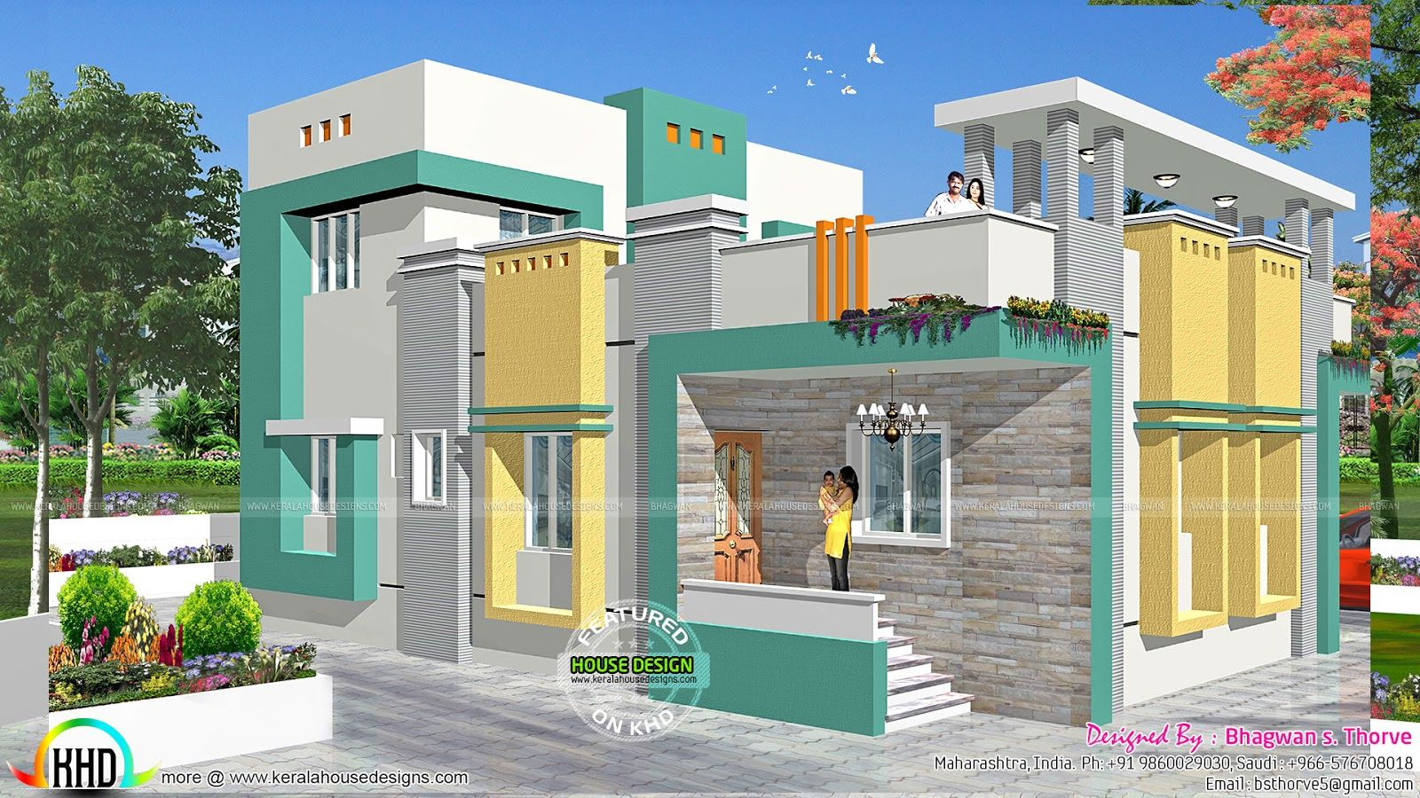 Home Design 2016 indoor outdoor living by dfd house plans Indian Home Design 2016