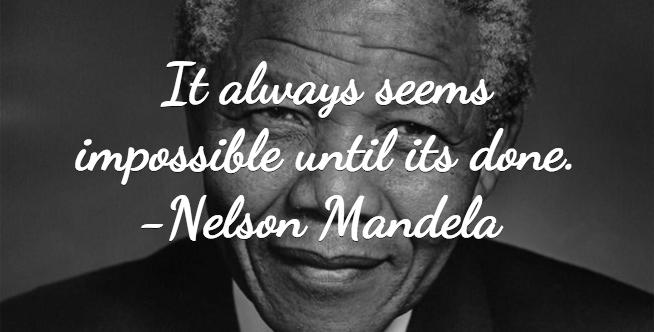 Nelson Mandela Quote   Sayings   Pinterest   Mandela quotes, Its ...