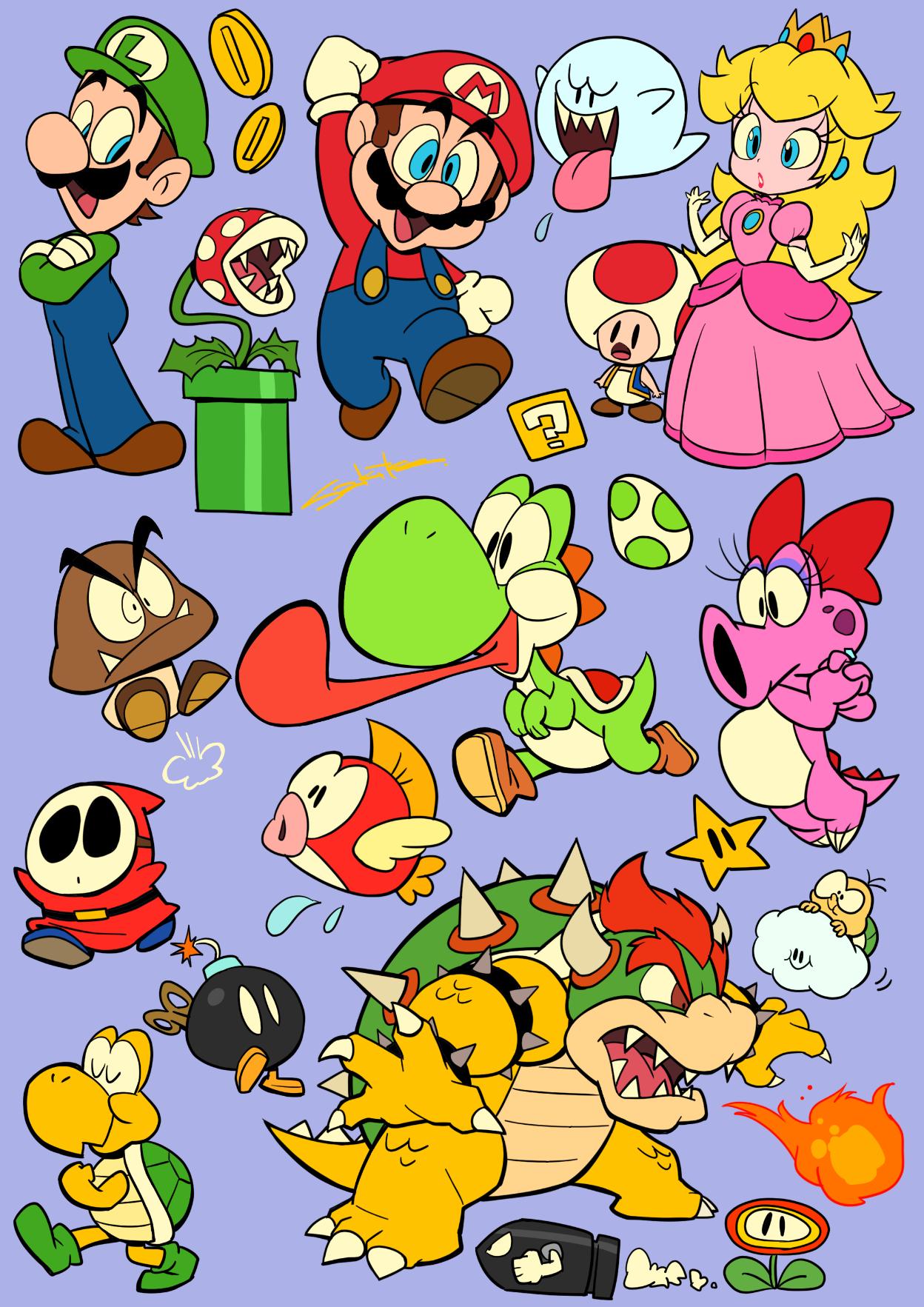 Sakiko S Tumblr Super Mario Art Mario Tattoo Mario Art