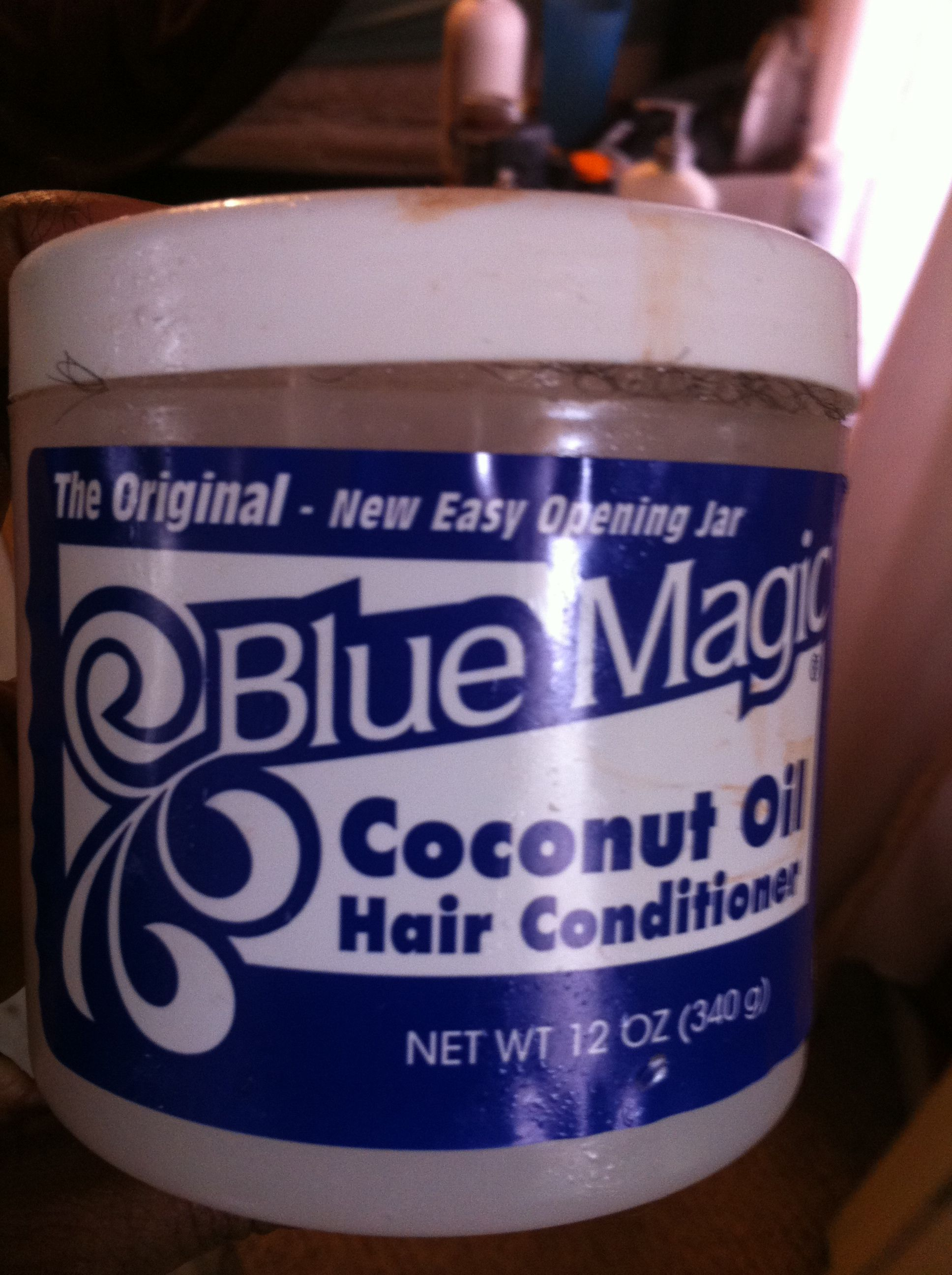 Old Fashion Blue Magic Coconut Oil Blue Magic Coconut Oil