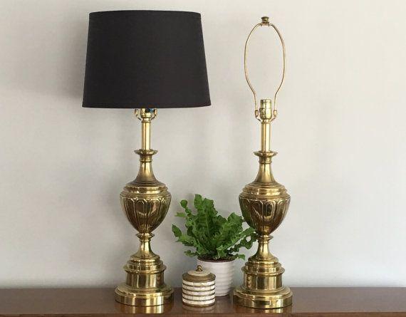 Vintage Brass Table Lamps Stiffel Brass Trophy Urn By Modrendition Brass Table Lamps Lamp Vintage Table Lamp