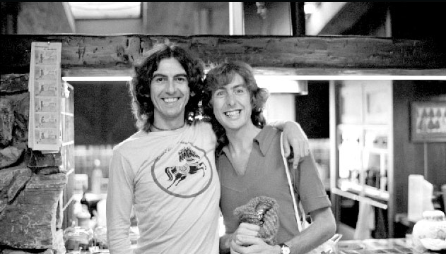 """""""In the hospital he (George) asked the nurses to put fish and chips in his IV. The doctor - thinking he was delusional - said to his son """"don't worry, we have a medical name for this condition."""" """"Yes,"""" said Dhani, """"humor."""" - Eric Idle"""