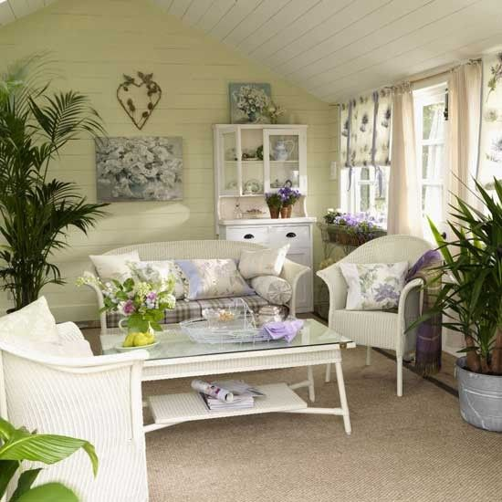 Garden Living Room Living Room Furniture Decorating Ideas Ideal Home Summer House Interiors Traditional Living Room Room Interior
