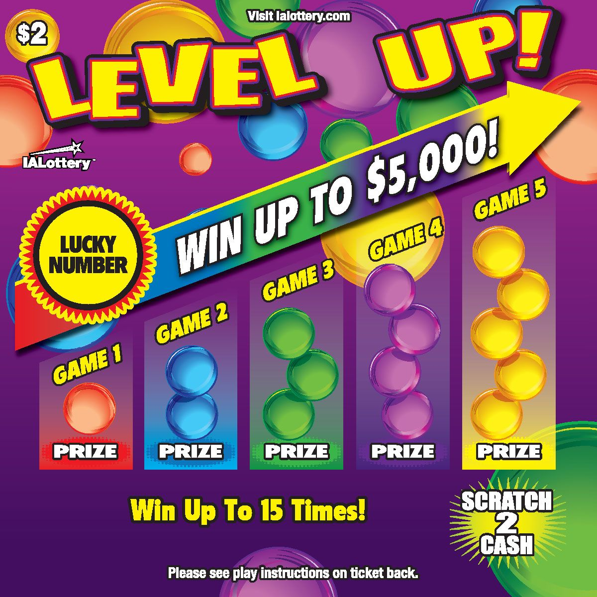 Pin on New Lottery Games!