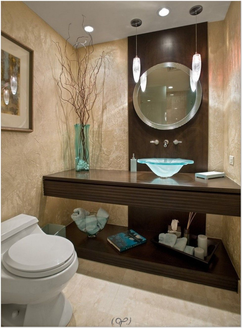How To Decorate A Bathroom With Recycling, You Must Try It! Simple  Decorating Bathroom Ideas
