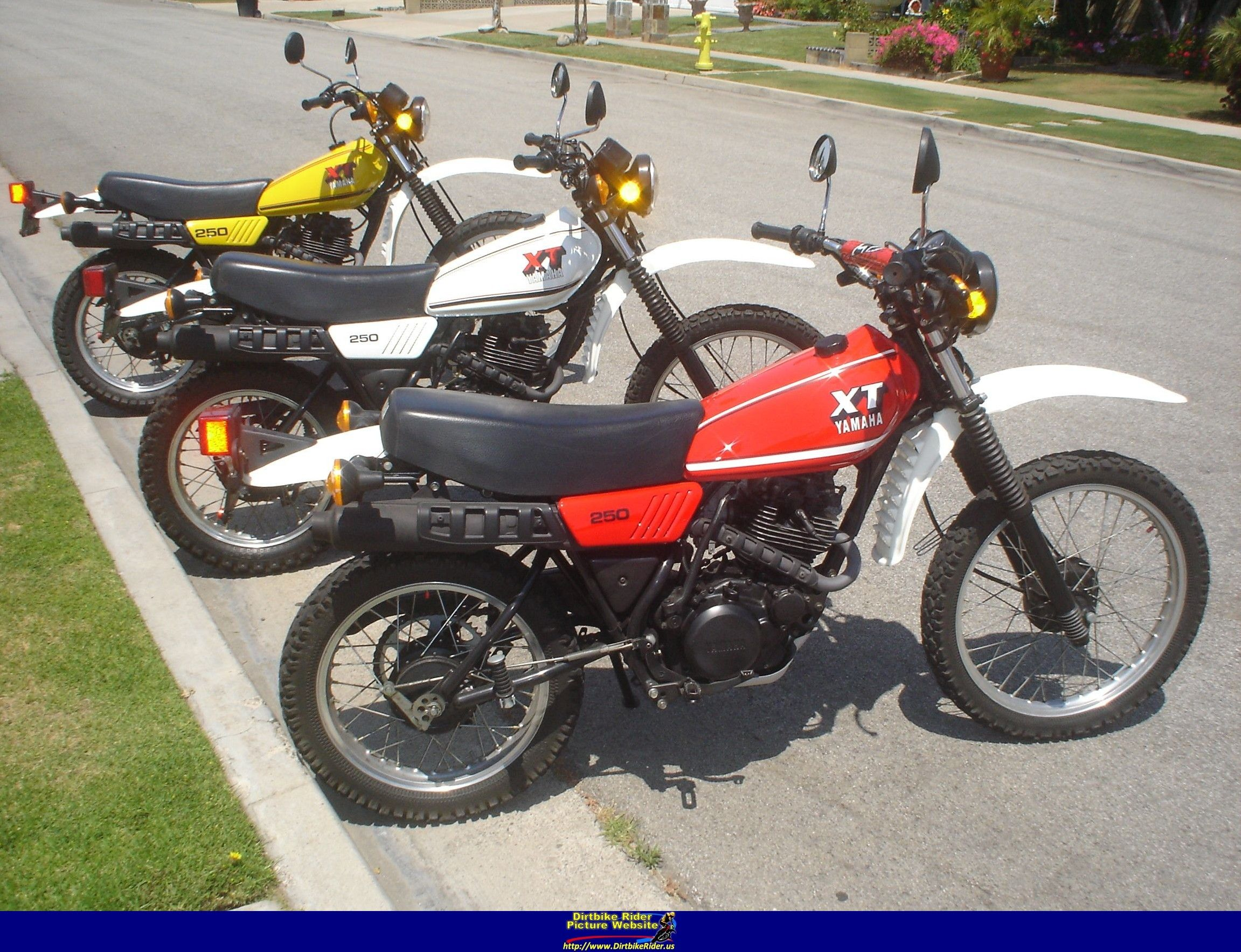 Click Here For Full Size Photo Of A Yamaha Txt250 At Http Www Dirtbikerider Us Enduro Motorcycle Classic Bikes Yamaha