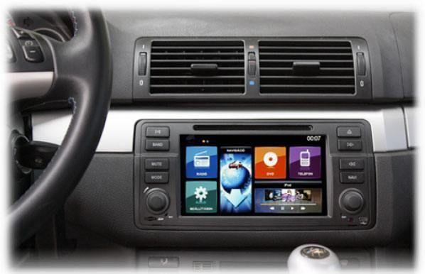 Navigatie BMW Seria 3 E46 Dynavin | Navigatii Dedicate | Bmw