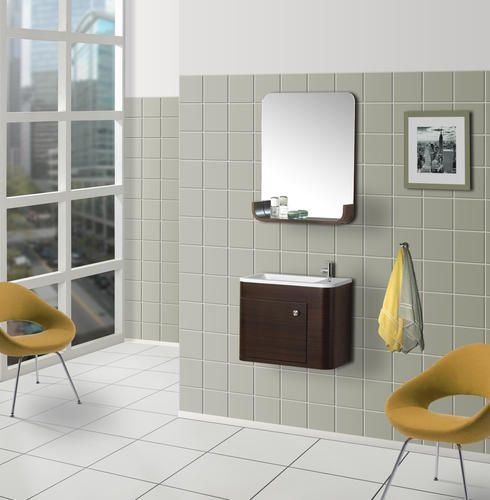 DreamLine Wall Mounted Modern Bathroom Vanity   W/Sink And Mirror At Menards