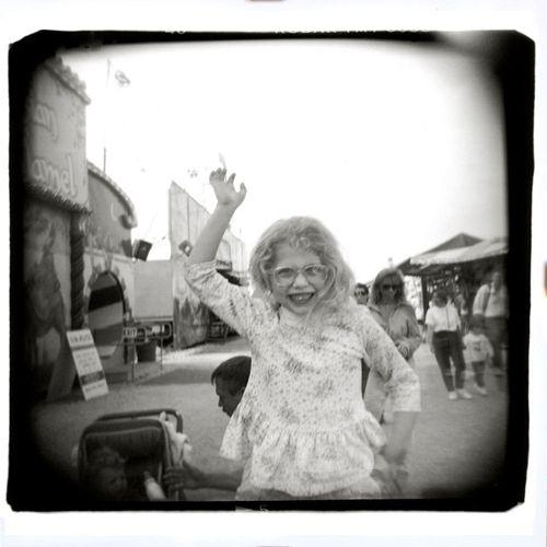 Carnival Girl - Austin, Texas 11x14/M Print