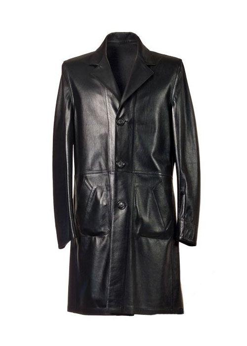 handmade women black matrix Leather coat women by ukmerchant ...