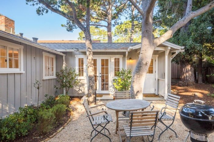 Carmel by the Sea Cottage Outdoor Space for Entertaining