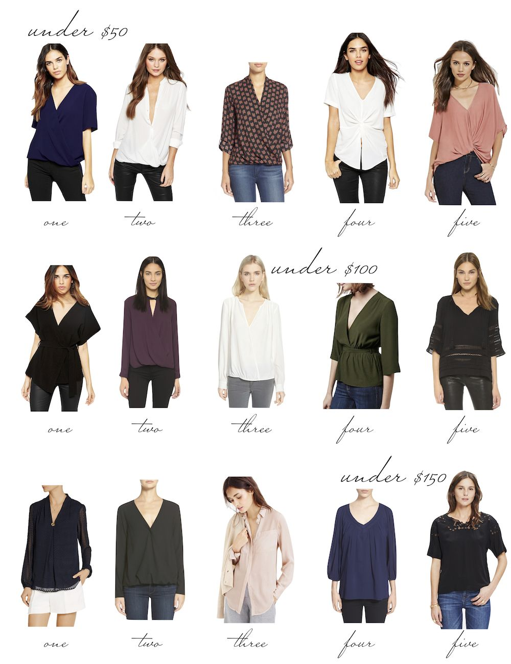 c634724806 Date Night Tops at Three Price Points   shopping list.   Dating ...