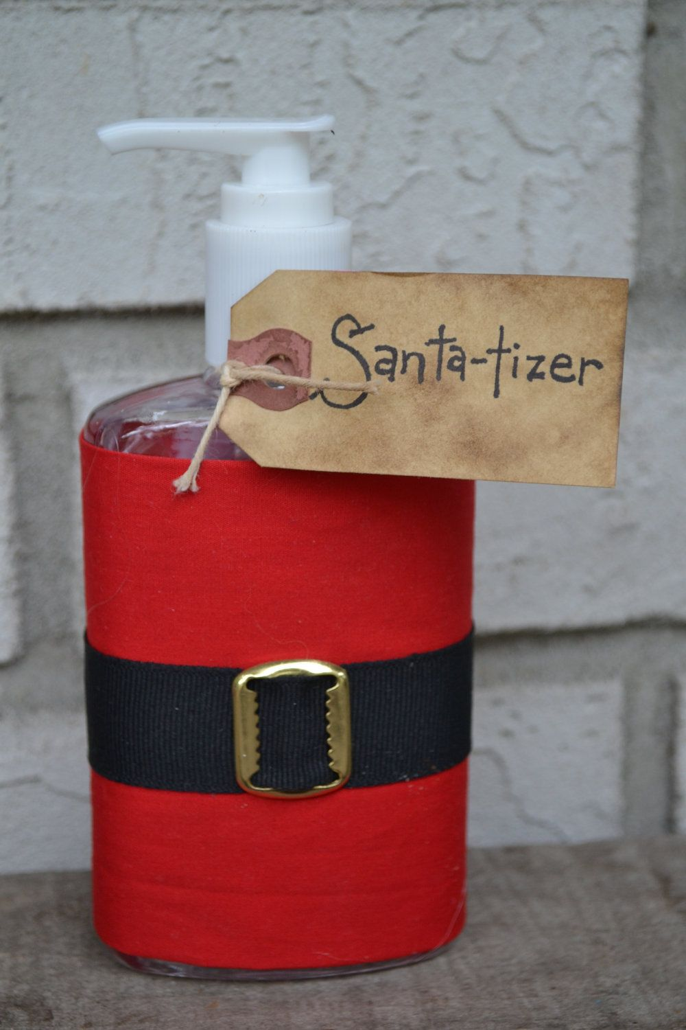 Cute Idea Santa Tizer Hand Sanitizer From Yall Come Back Decor On