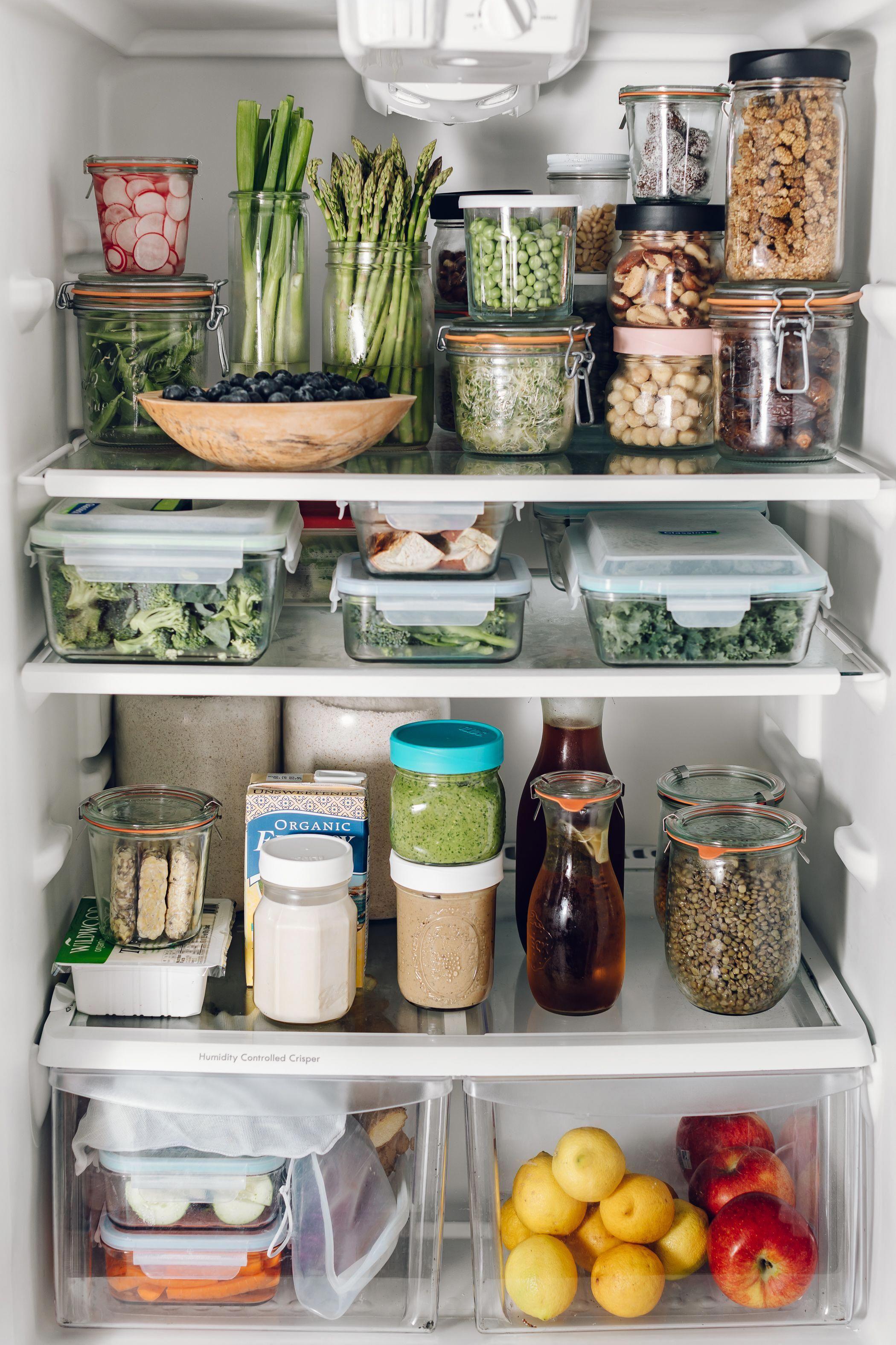 Stocked fridge   how to keep that produce fresh ...
