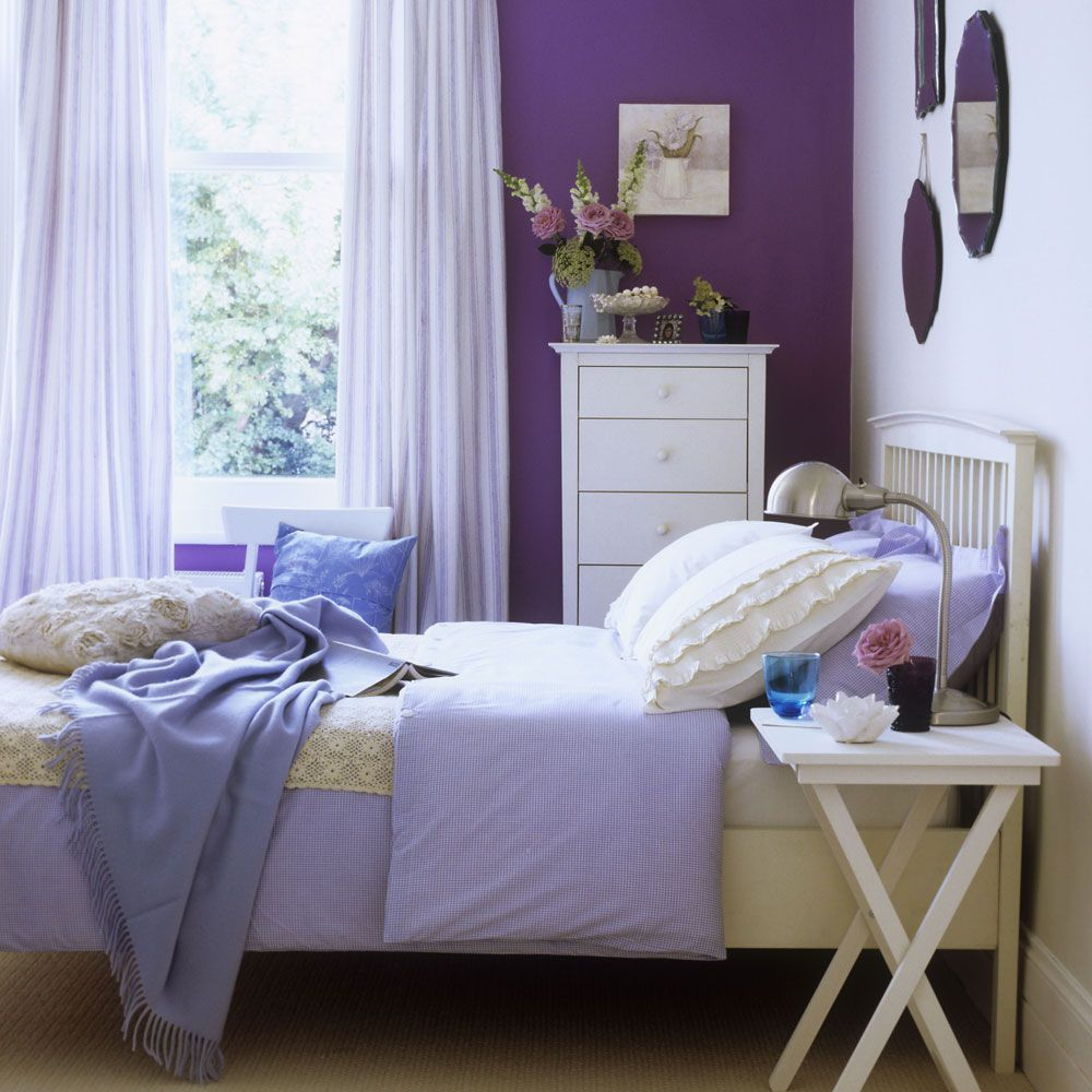 From Warming Heather To Fresh Lilac, Learn How To Decorate Your Bedroom In  Feel Good Purple With Our Inspiring Ideas