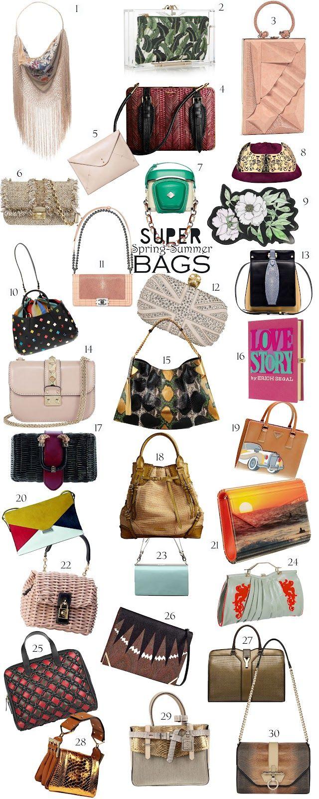 Fashion Zoom: Super Spring-Summer Bags 2012 - ElectroMode