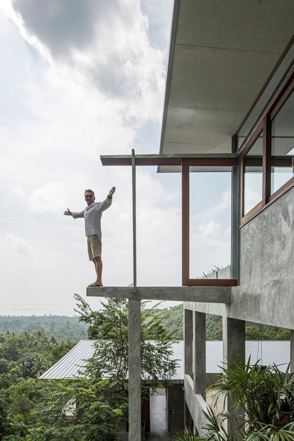 Fantastic open plan living in Koh Samui: The Naked House
