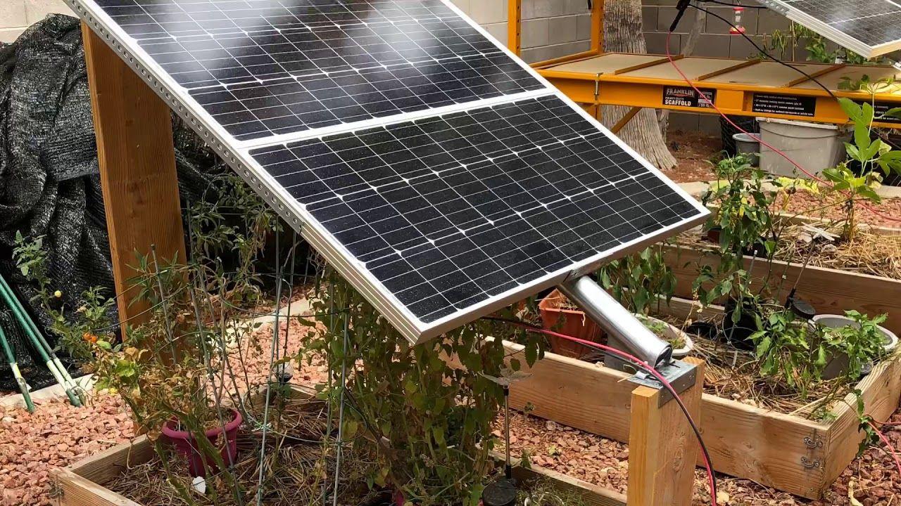 01 Diy Solar Panel Ground Mount Idea For Home Backyard W Fence Post 2019 Vlog Youtube Diy Solar Panel Diy Solar Solar Panels