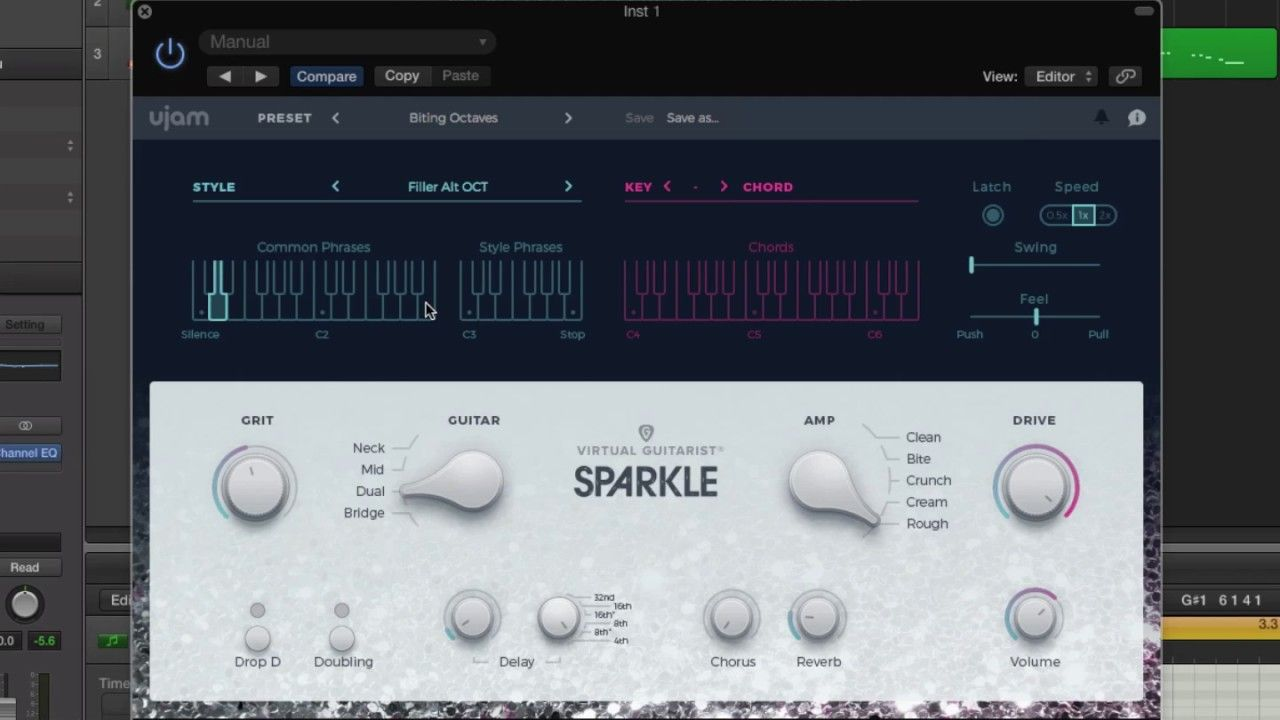 Virtual Guitarist Sparkle First Look UJam | Songwriting