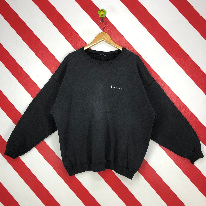 Vintage 90s Champion Sweatshirt Champion Crewneck Streetwear Etsy Crewneck Streetwear Champion Sweatshirt Printed Jumpers [ 3000 x 3000 Pixel ]