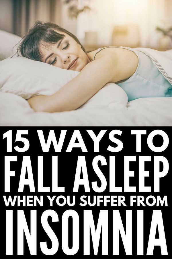 How to Fall Asleep Quickly: 15 Tips to Banish Inso