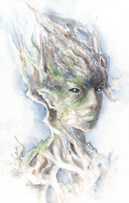 Watercolor Dryad by ArtLair