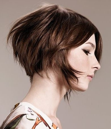 Short Bob With Long Front Pieces Hair Inspiration Pinterest