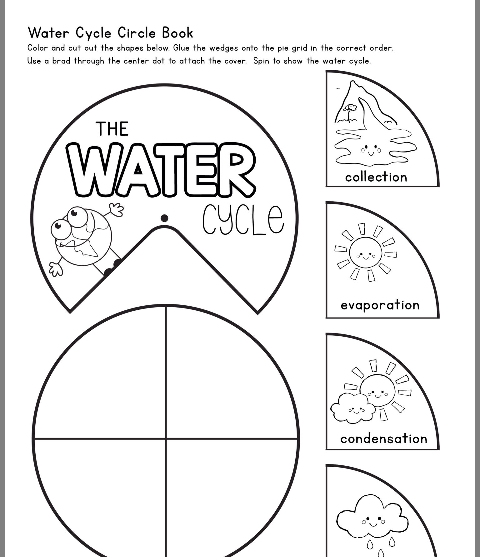 Pin By Lori Harrison On Science Centre Water Cycle Water Cycle Activities Water Cycle Worksheet