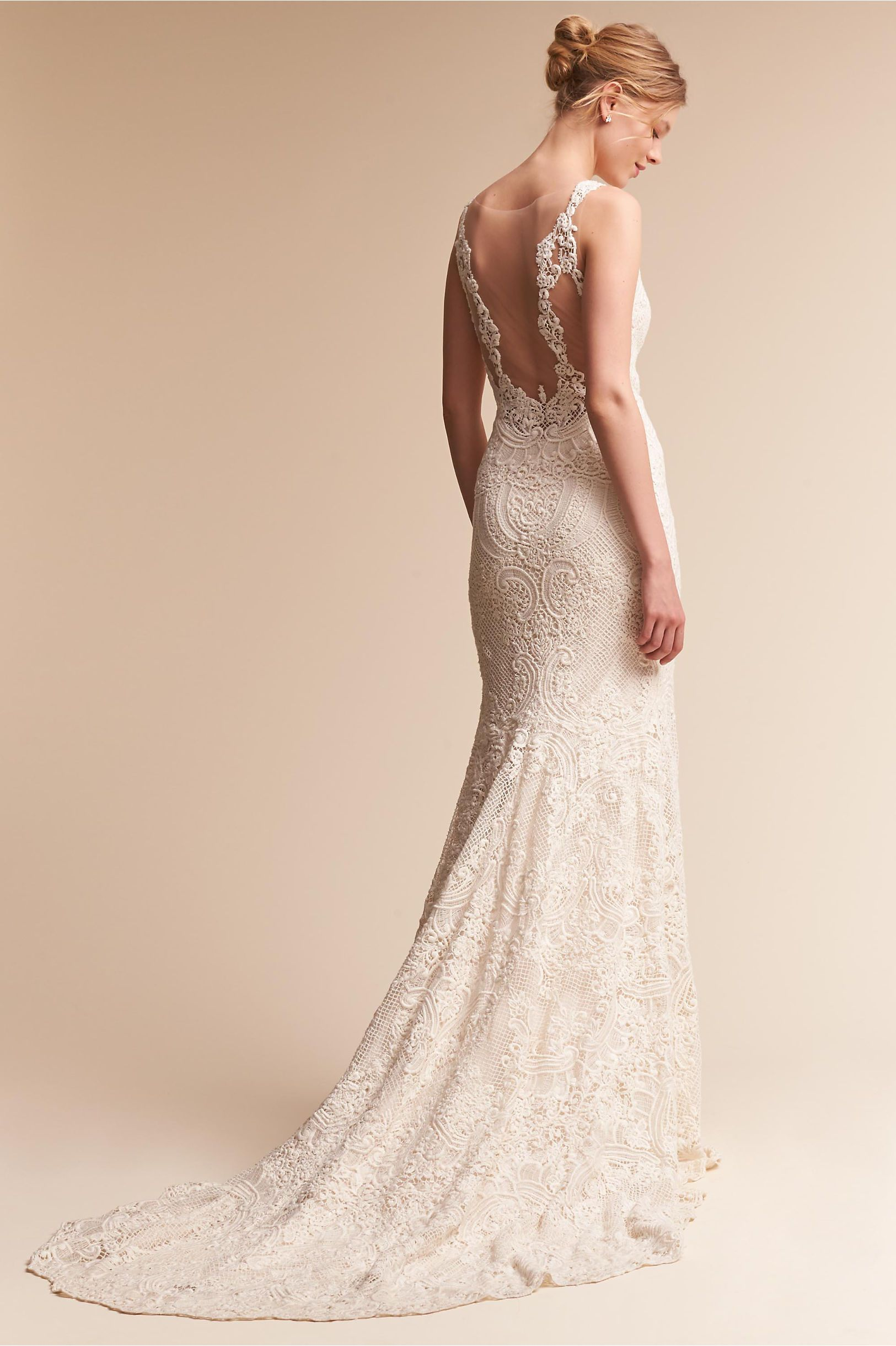16e2cac9d2 BHLDN s Rosa Clara Atherton Gown in Champagne