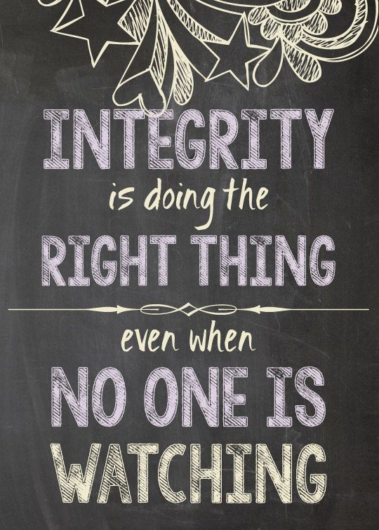 Image result for integrity quotes FOR CHILDREN