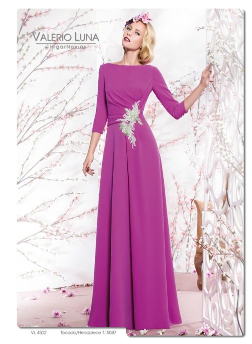 Pin de maria jose en vestidp | Pinterest | Boda, Vestido de madrina ...