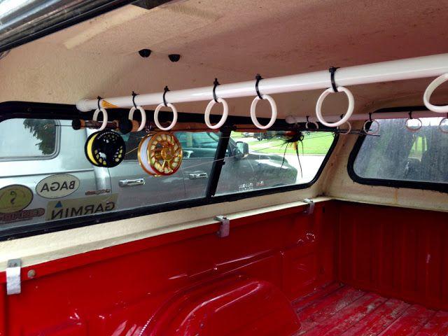 Diy Truck Topper Rod Holder Fishing Rod Storage Fishing
