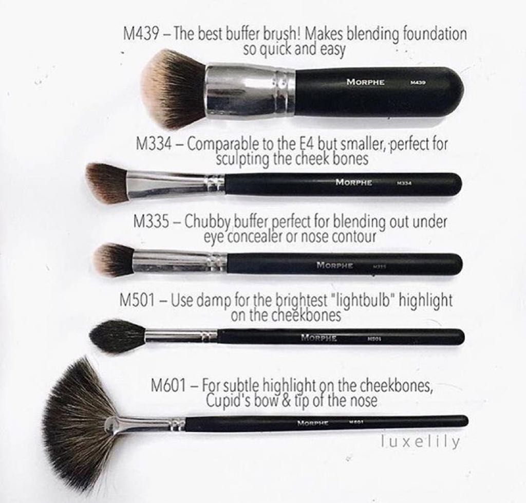 Morphe Brushes giftryapp Nose contouring, Essential
