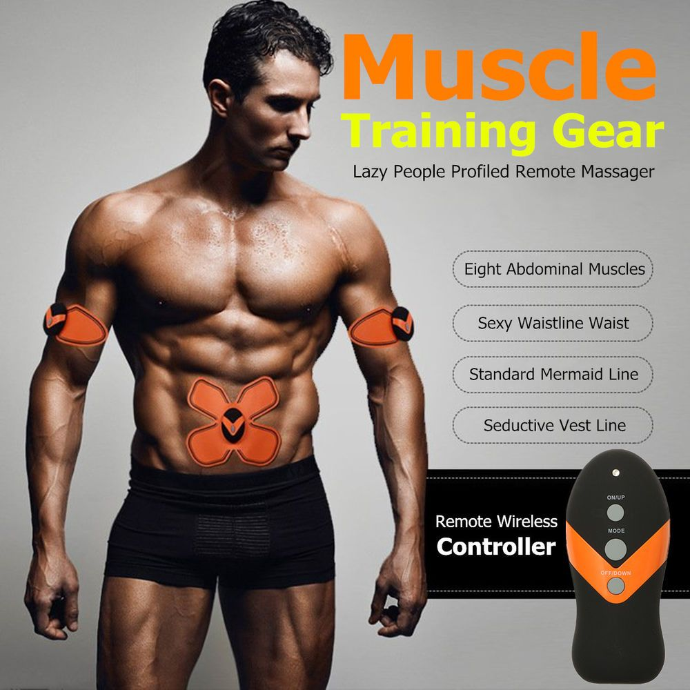 Smart EMS Muscle Training Gear Body ABS Fit Exercise Shape