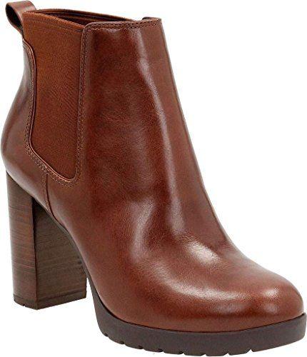 Clarks Elipsa Dee Ankle Boots Color Brown  Women