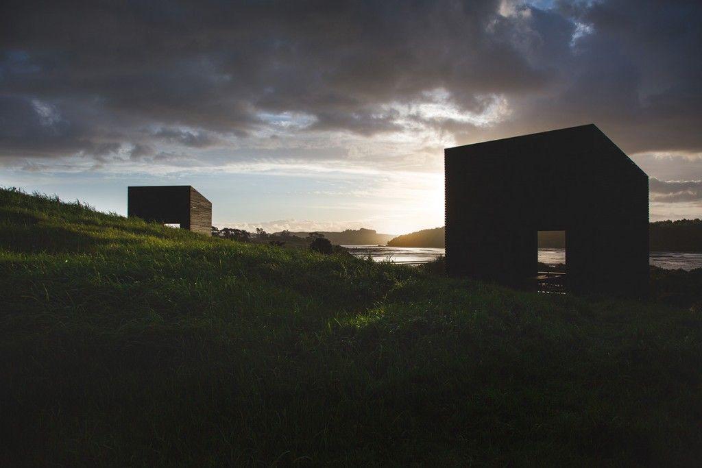 Unas cabañas minúsculas para disfrutar de la costa neozelandesa - despiertaYmira