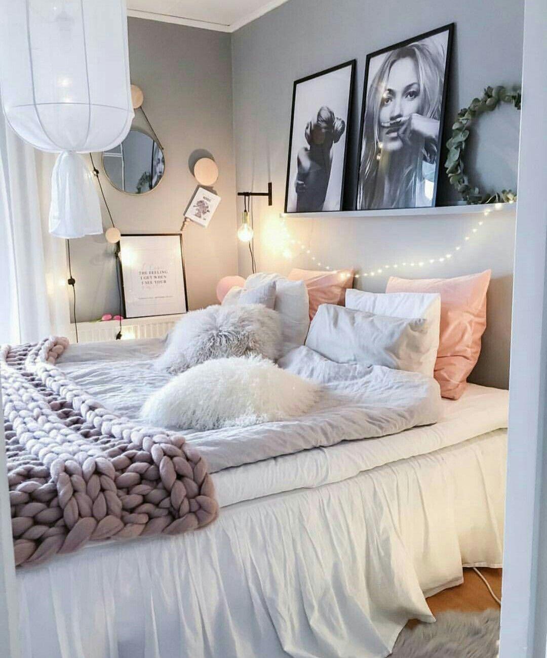Romantic Living Room Ideas For Feminine Young Ladies Casa: Pin De Sheyla Limeira Em - Home Decorating ♥