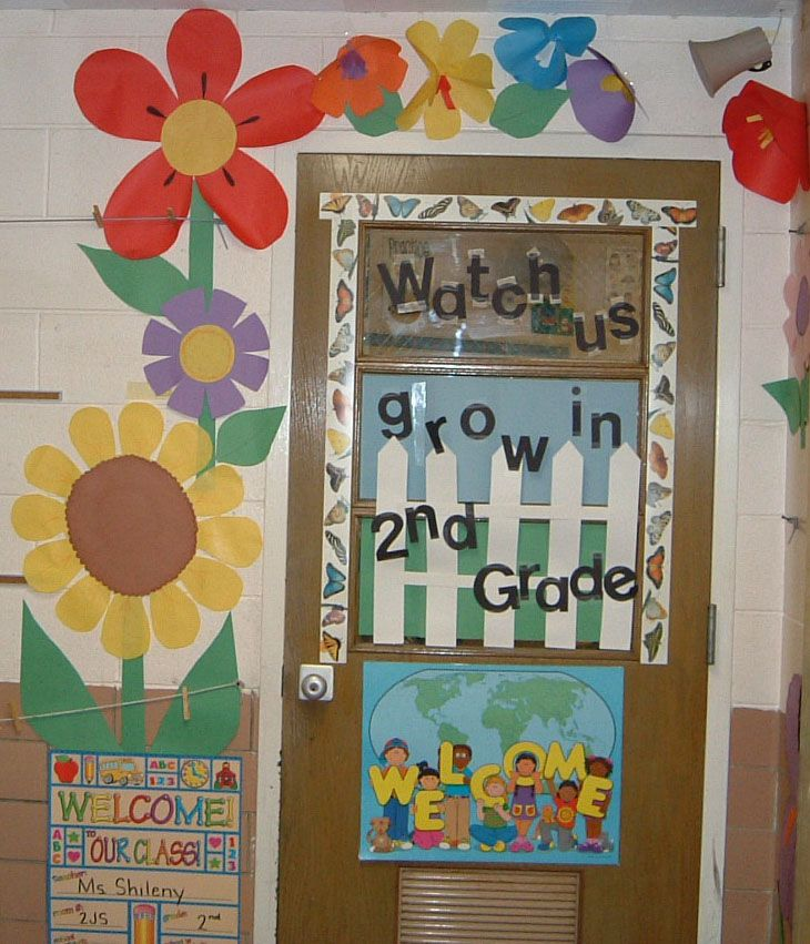 Back to school door decorating ideas adventure of the for Back to school classroom door decoration ideas